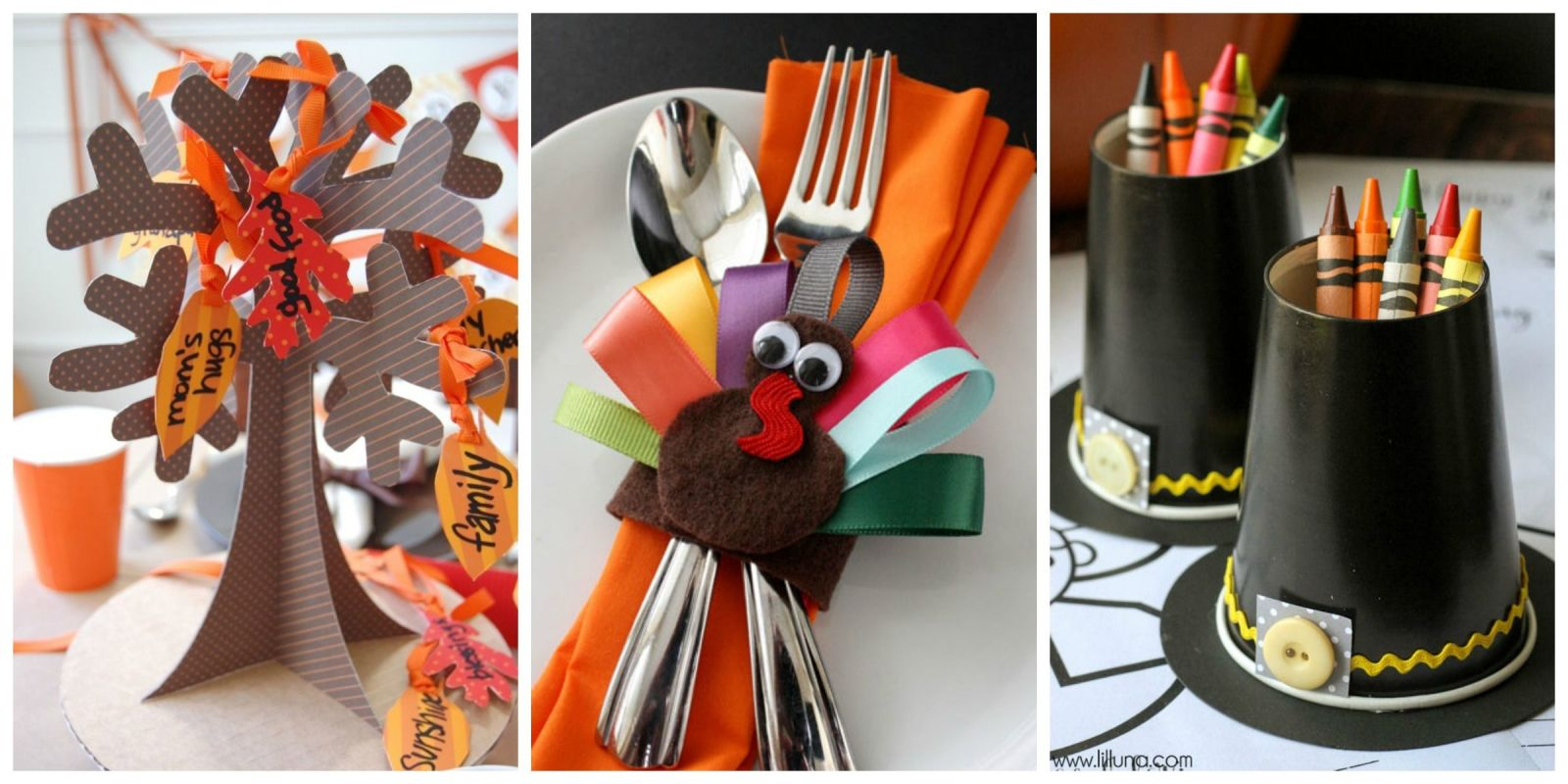 Thanksgiving decorations for kids -
