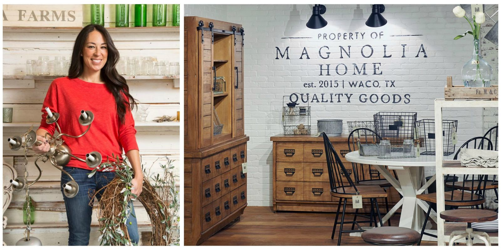 Magnolia home by joanna gaines joanna gaines first home for Furnishing first home