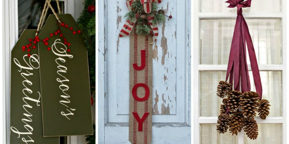 14 Cheerful Christmas Door Decorations That Arent Wreaths