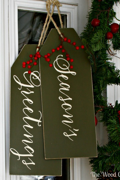 DIY Christmas Door Decorations Holiday Door Decorating Ideas - Door christmas decorating ideas