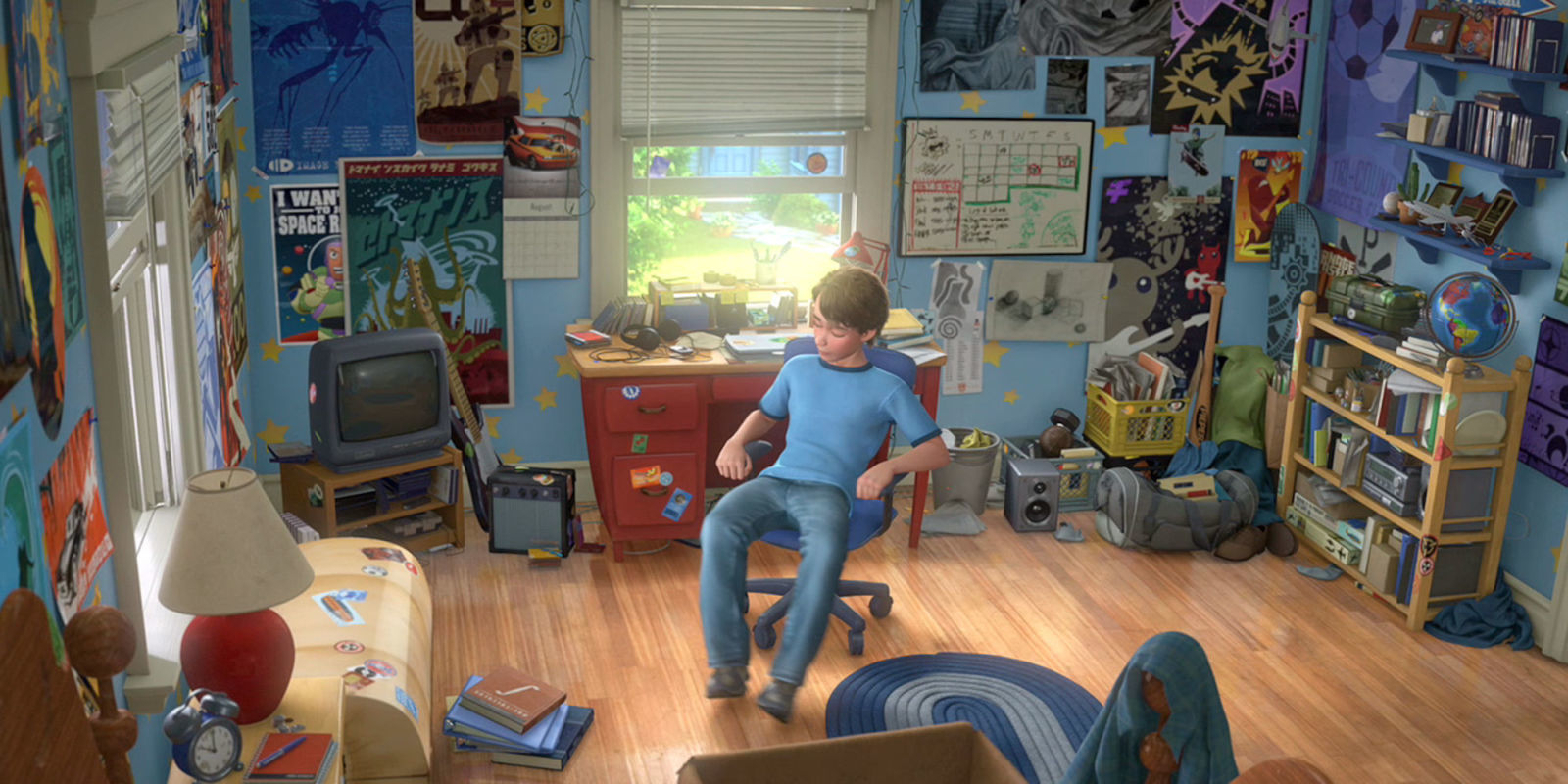 """Teens Make An Exact Replica Of Andy's Bedroom From """"Toy"""