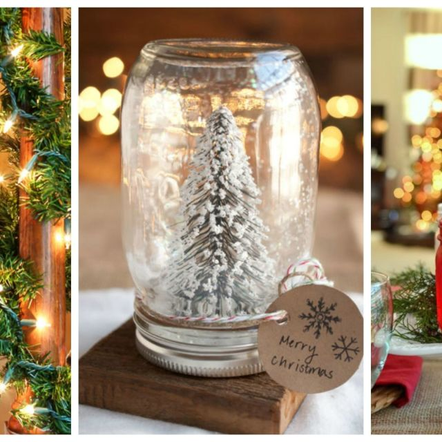 Easy DIY Christmas Ideas - Holiday Craft Projects