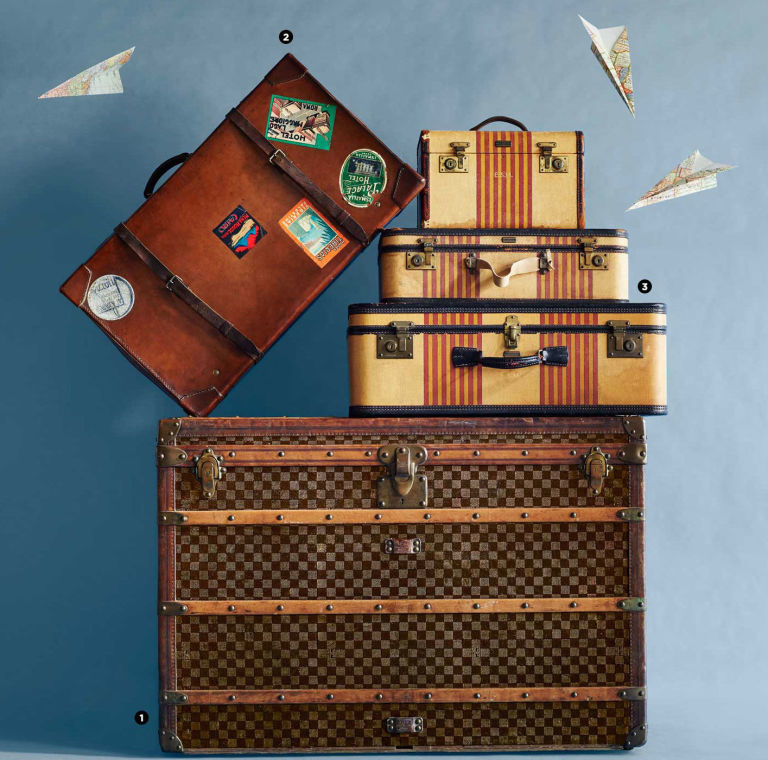 The Collector's Ultimate Guide to Luggage - Vintage Suitcases