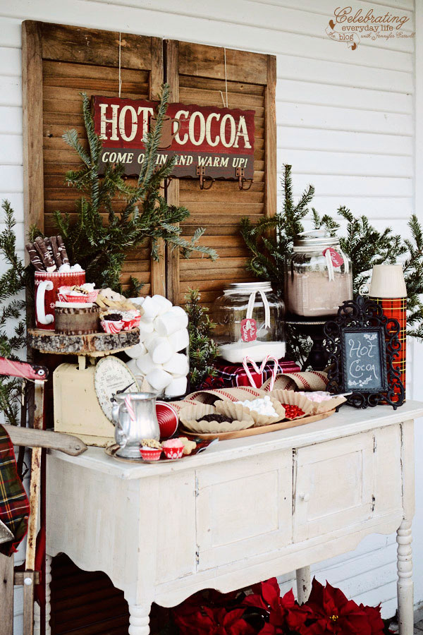 Christmas Porch 32 outdoor christmas decorations - ideas for outside christmas