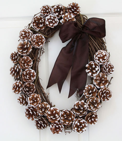 Ideas For Pinecone Christmas