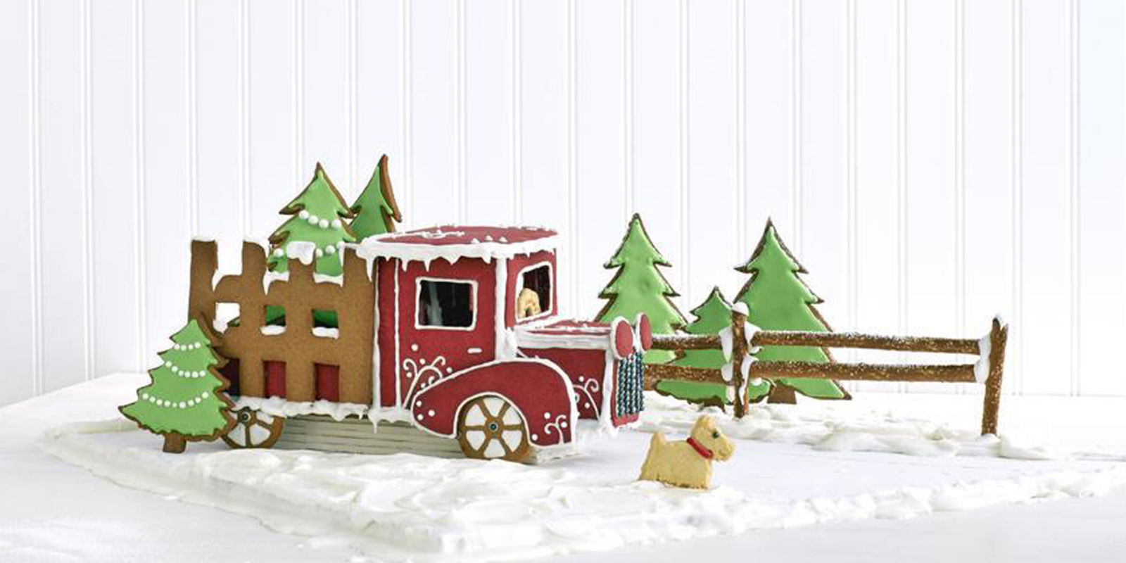Gingerbread truck recipe country gingerbread house ideas for Unique house decorating ideas