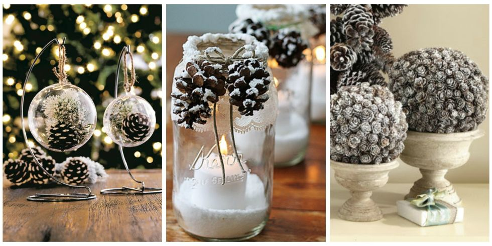 Put Those Fallen Pinecones To Good Use With These Crafty Decorating Ideas.