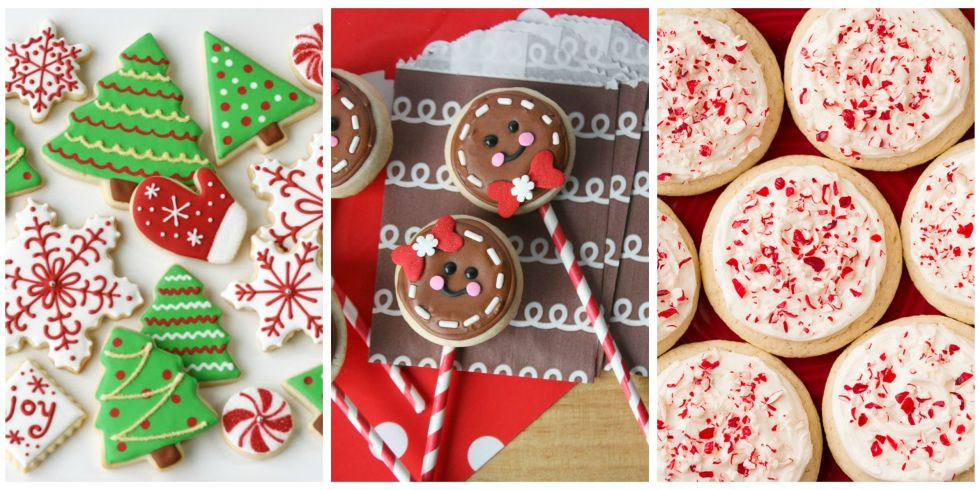 25+ Easy Christmas Sugar Cookies - Recipes & Decorating Ideas for ...