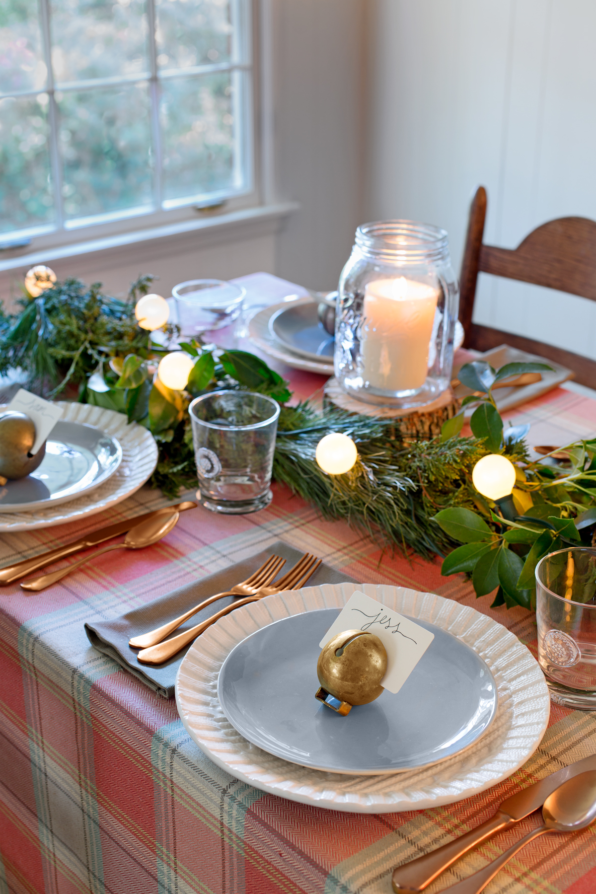 Country christmas table decoration ideas - Country Christmas Table Decoration Ideas 1