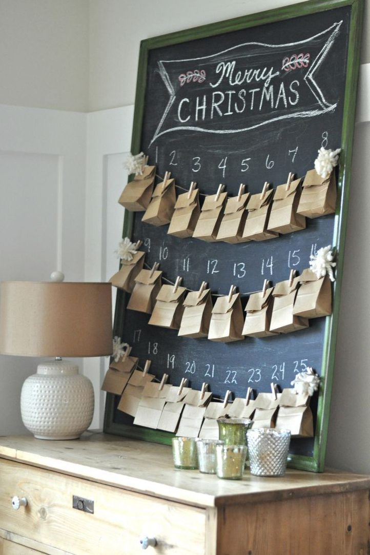 Advent Calendar Homemade : Diy advent calendar ideas homemade christmas