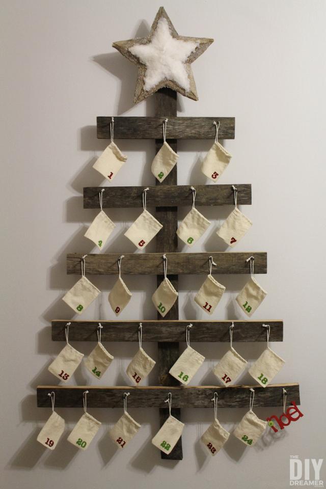 How do you make an Advent Calendar?