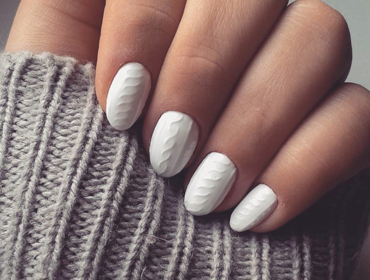 sweater nail art how to get cable print nails