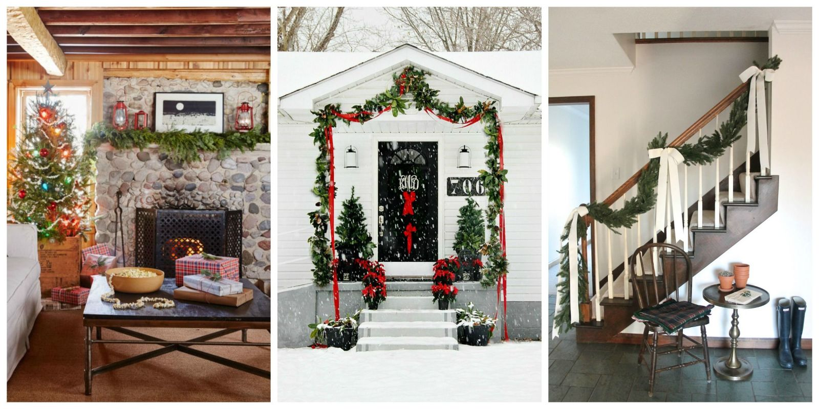 55 best christmas garland ideas - decorating with holiday garlands