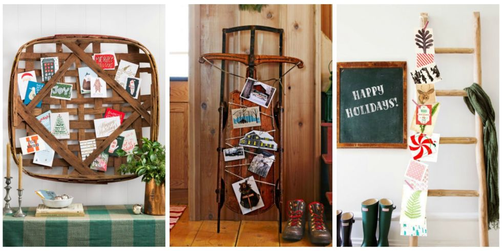 21 DIY Christmas Card Holder Ideas - How to Display Christmas Cards