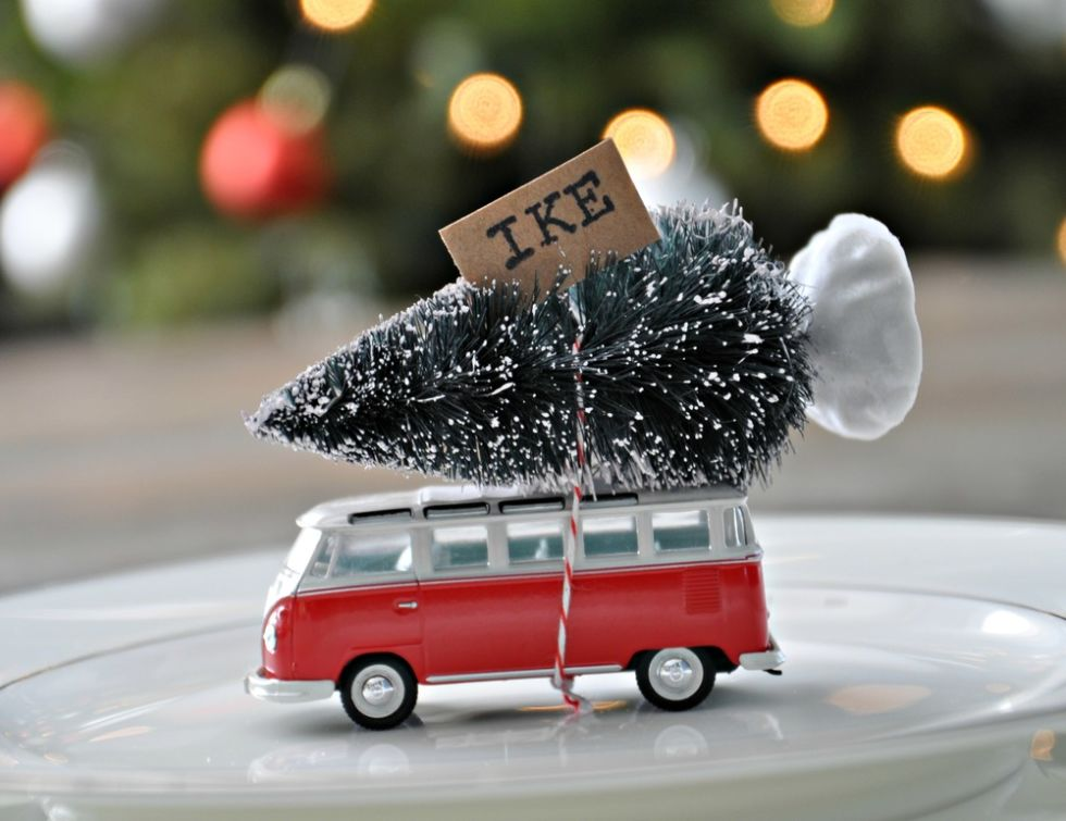 It's safe to say we've never seen a more adorable place card than this cute VW bus. Get the tutorial at Decor and The Dog.
