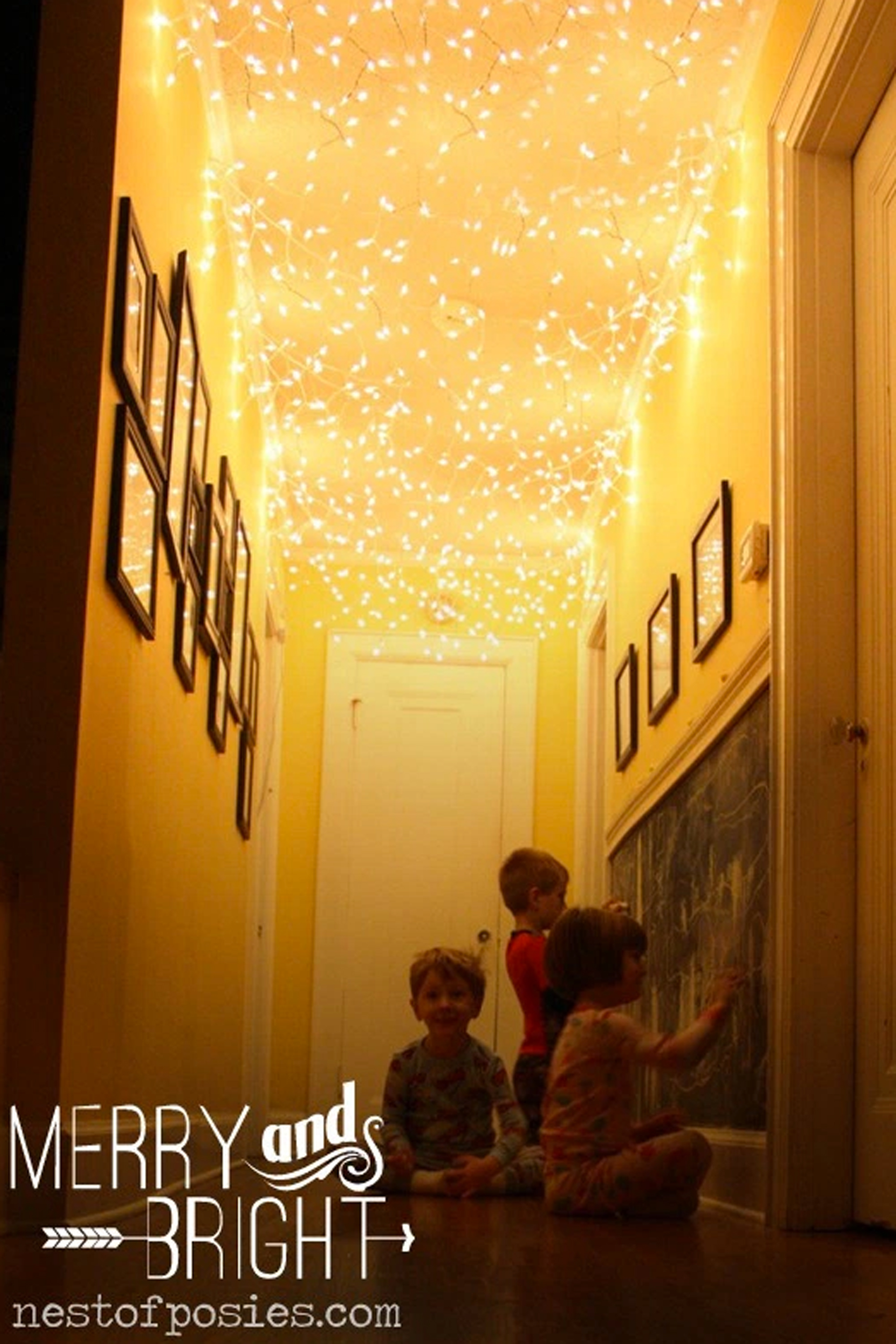 24 Ways To Decorate Your Home With Christmas Lights   Decorating Ideas With  LED Lights Part 12