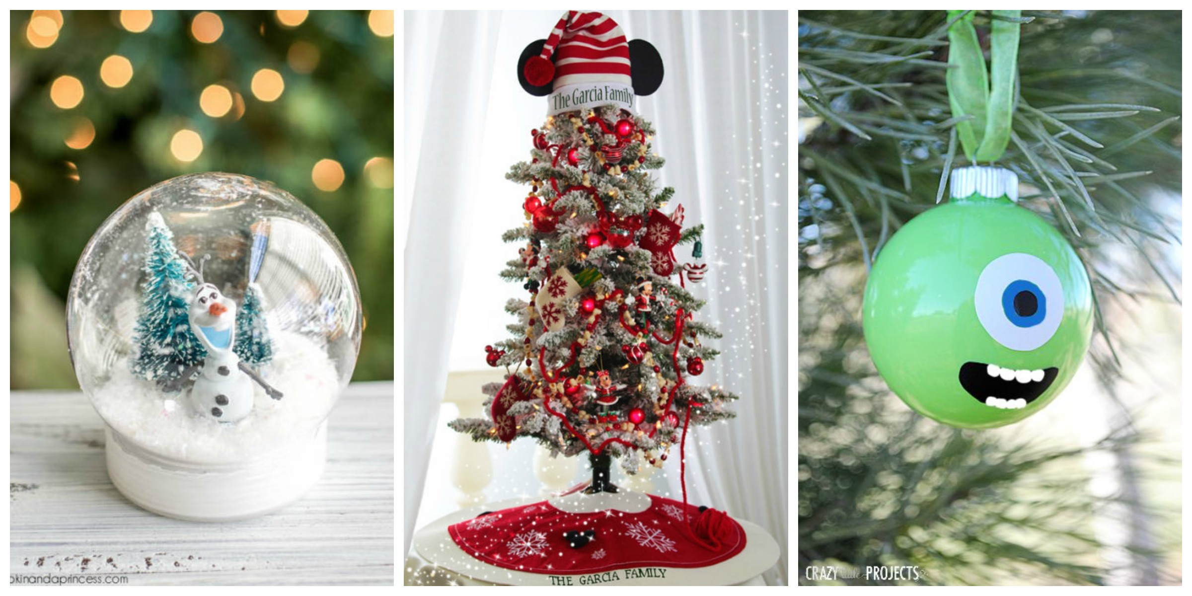 Disney christmas decorations diy