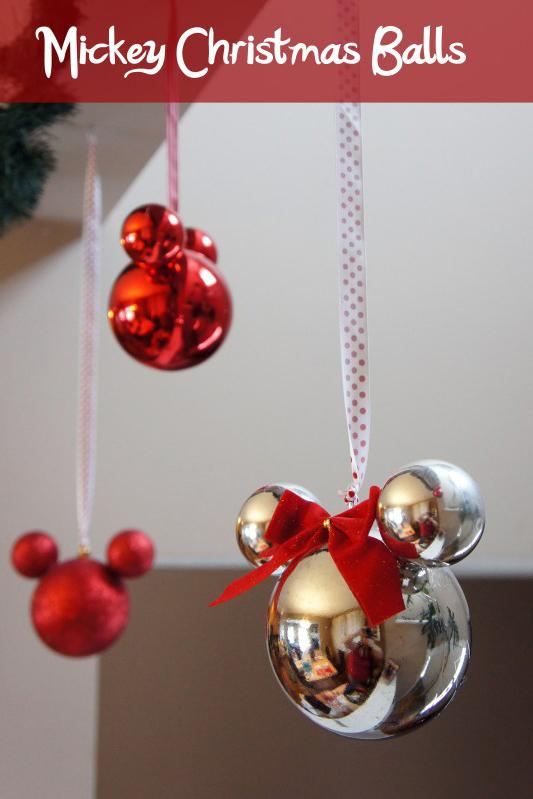 Disney Christmas Decorations - DIY Disney Christmas