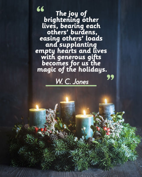 20 Merry Christmas Quotes - Inspirational Holiday Sayings