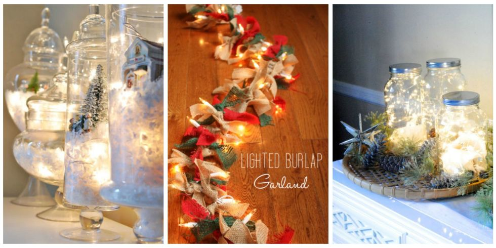 Decorate Your Home For Christmas 20 ways to decorate your home with christmas lights - decorating