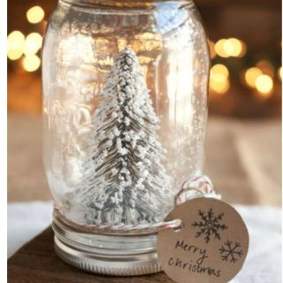 dreaming of a white christmas create your own little winter wonderland this year - Rustic Christmas Decorations