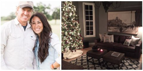 joanna gaines christmas how chip and joanna decorate for the holidays. Black Bedroom Furniture Sets. Home Design Ideas
