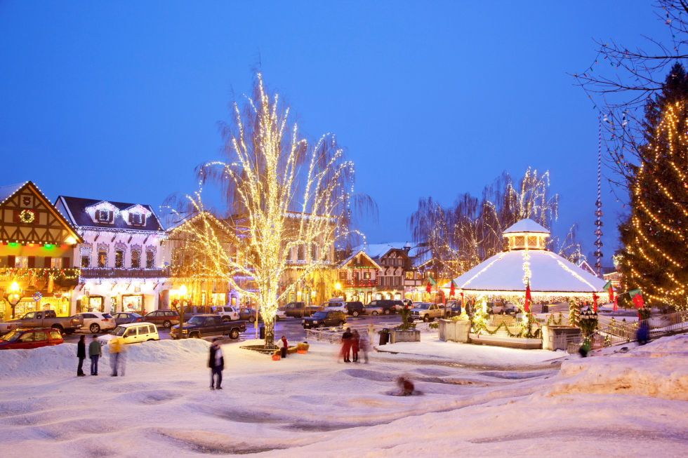 leavenworth wa - Lights For Christmas Village