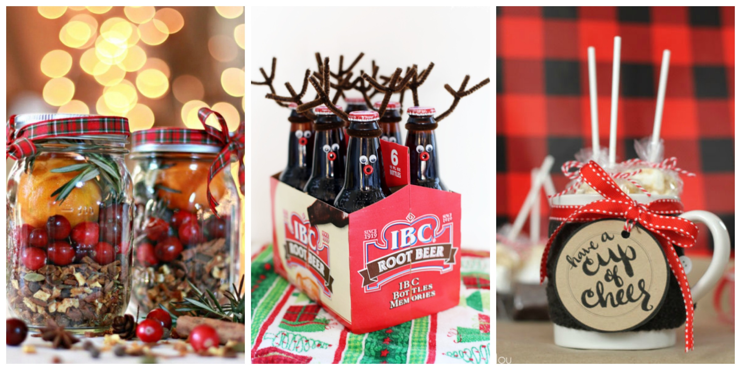 25 fun diy christmas gifts for neighbors inexpensive Country christmas gifts to make
