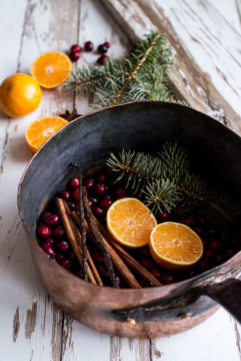 There is no easier way to get ready for Christmas than by simmering a pot of delicious-smelling holiday ingredients on the back burner of your stove. The best thing about this potpourri recipe is that you can use whatever you have on hand!