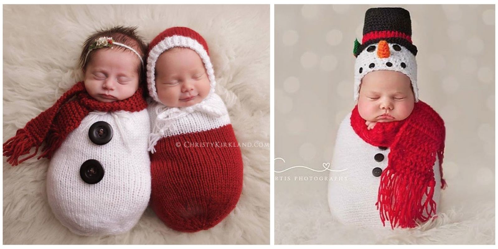 Knitted Christmas Outfits For Babies Cute Baby Christmas