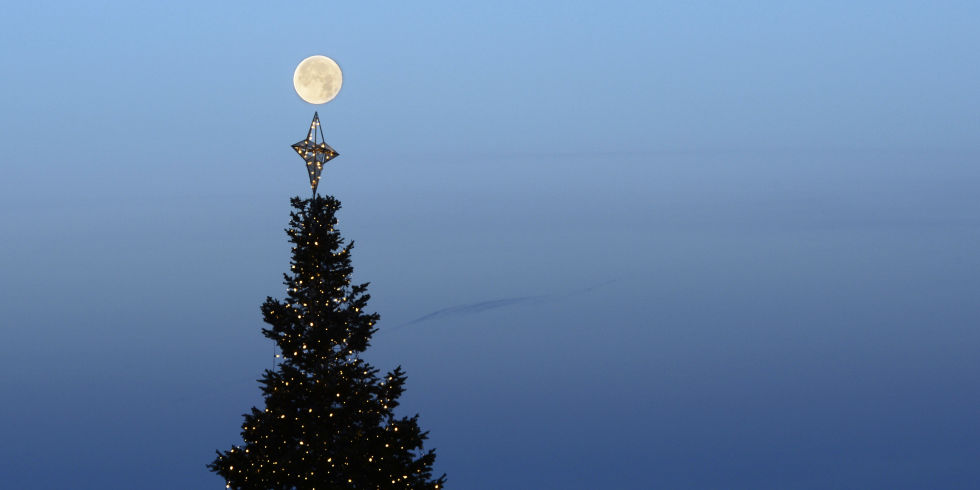 Full Moon on Christmas Day 2015 - Full Cold Moon on Christmas for ...