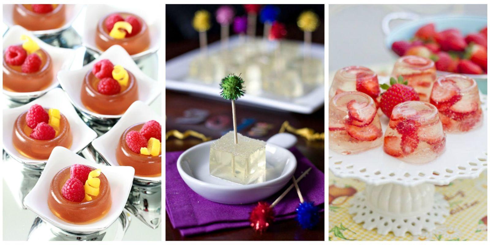 New Year s Eve Jelly Shots Holiday Jelly Shot Recipes