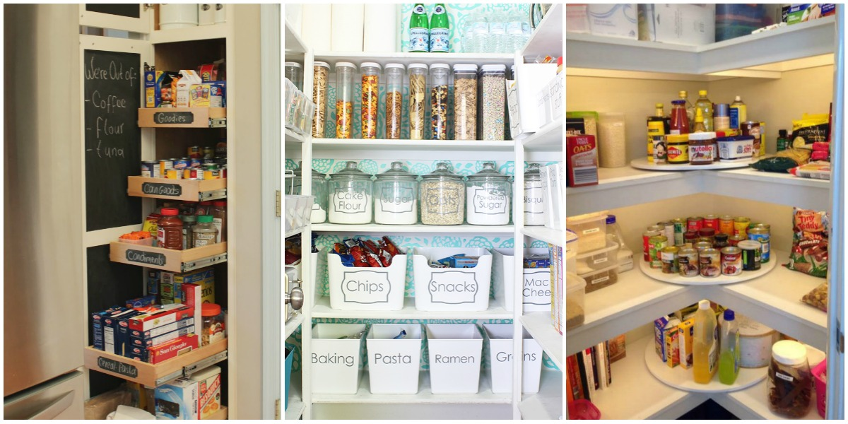 Pantry organization ideas and tricks how to organize Small home organization