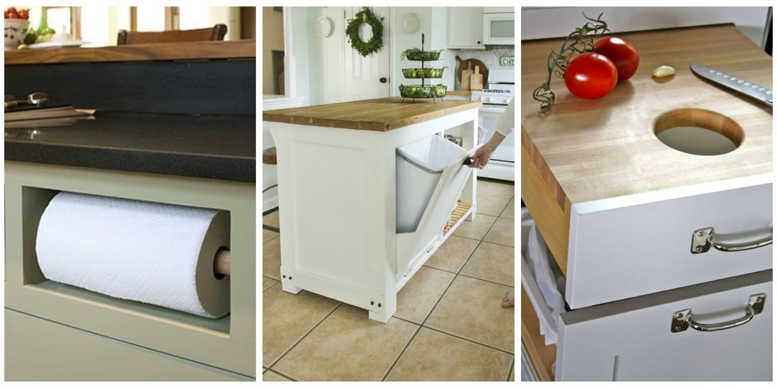 Kitchen storage solutions ideas for kitchen storage for Hidden kitchen storage ideas