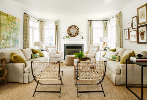 White living room decorating ideas