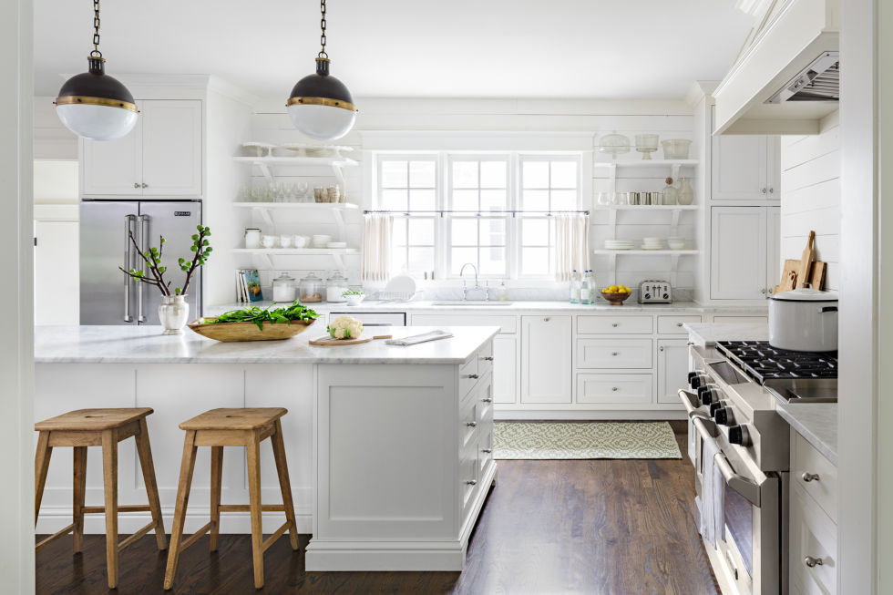 White Country Kitchen Images mandy reeves white tennessee home - white decorating ideas