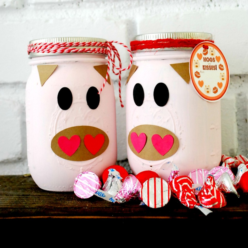 25 Cute Valentines Day Mason Jars Ideas -Valentine's Day Mason Jar ...