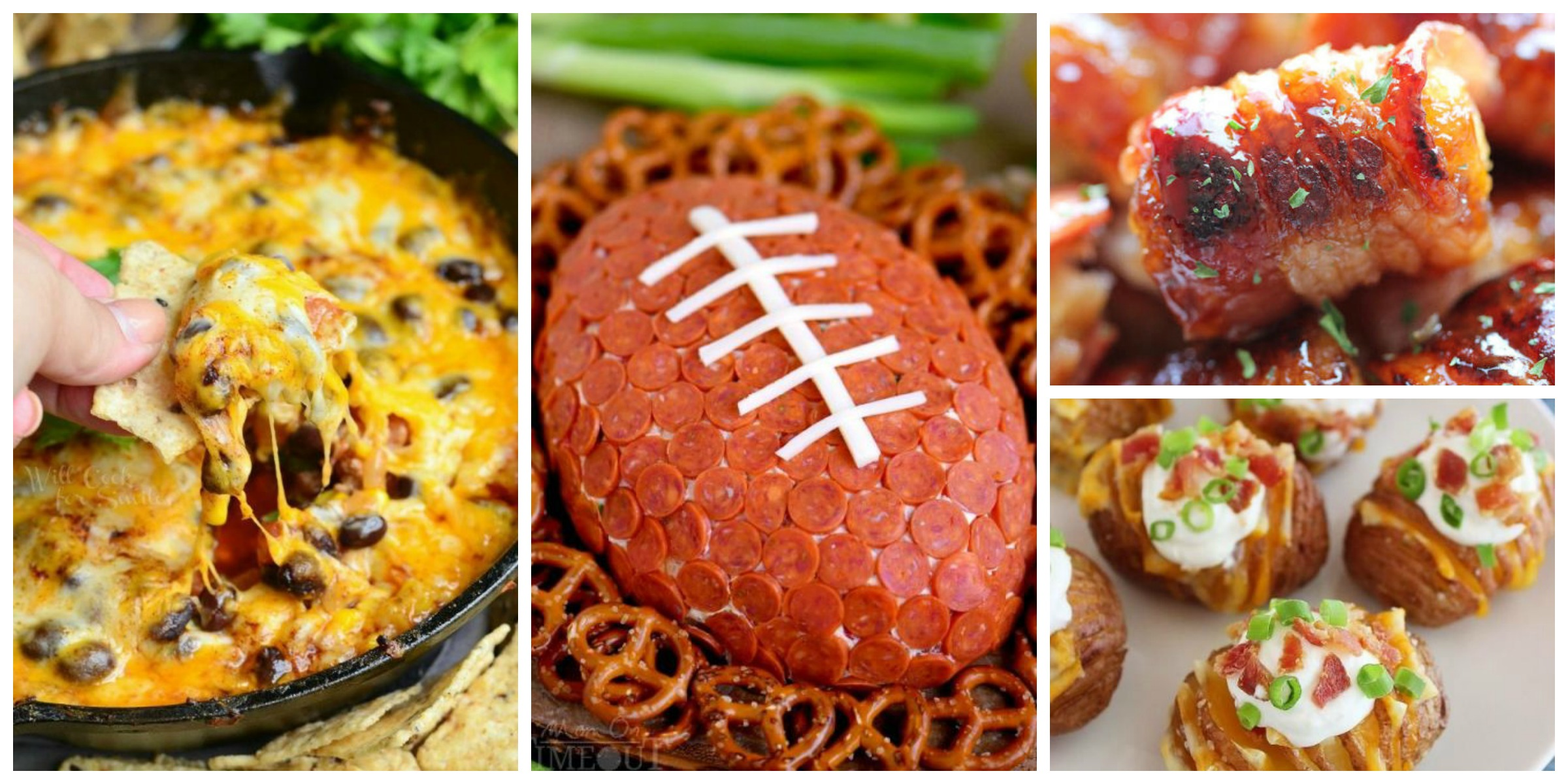 30 best super bowl snacks recipes for super bowl party for Super bowl appetizers pinterest