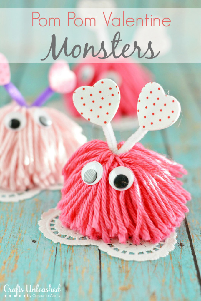 32 valentine 39 s day crafts and diy ideas for Crafts for valentines day ideas