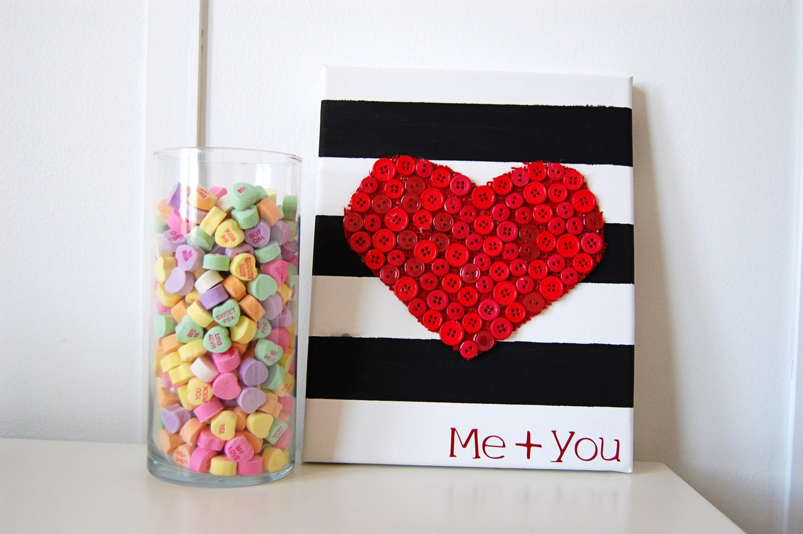 18 Sweet and Simple DIY Valentineu0027s Day Decorations - Valentine Decor