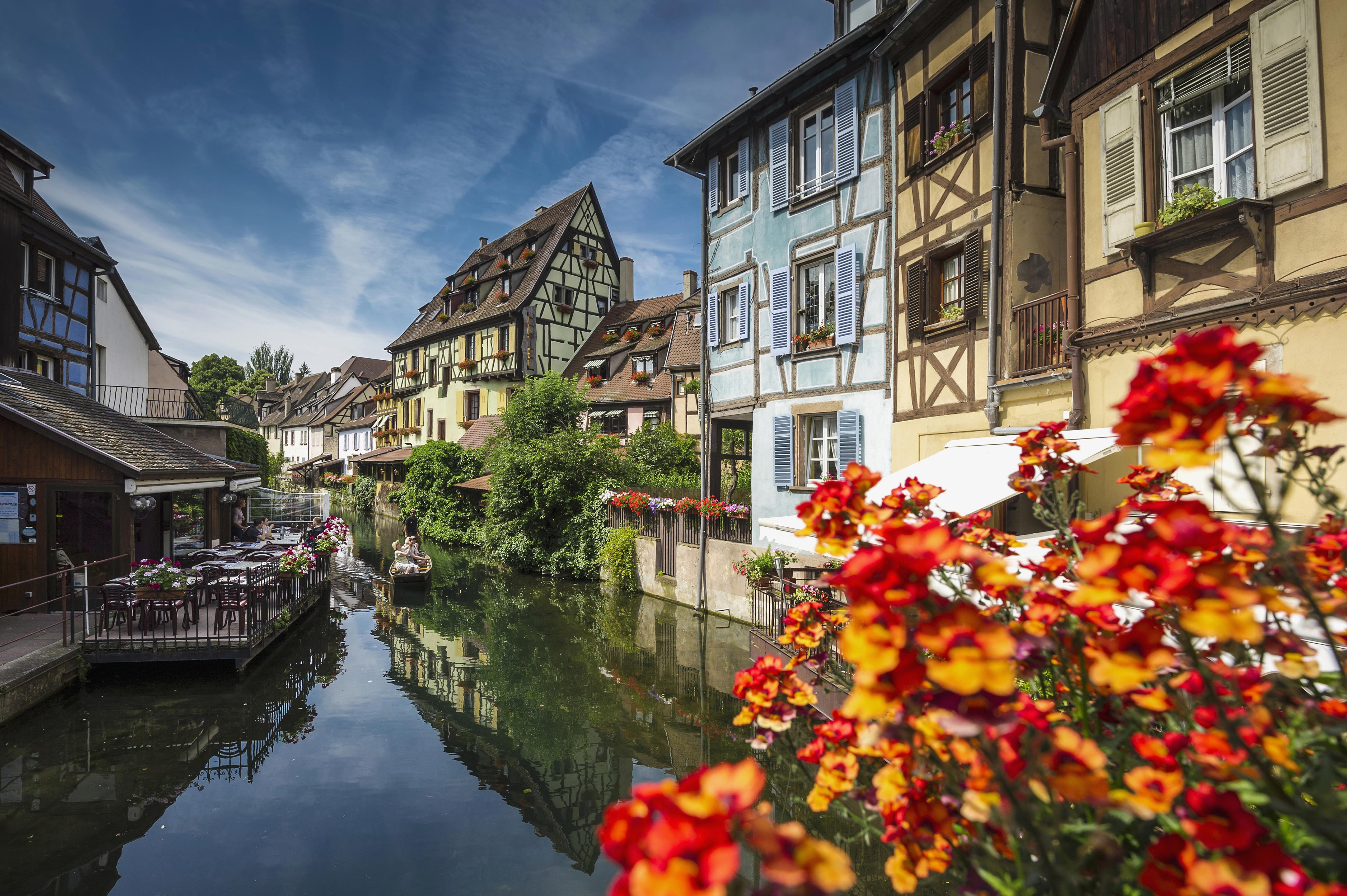 This french town looks like it 39 s straight out of beauty Colmar beauty and the beast