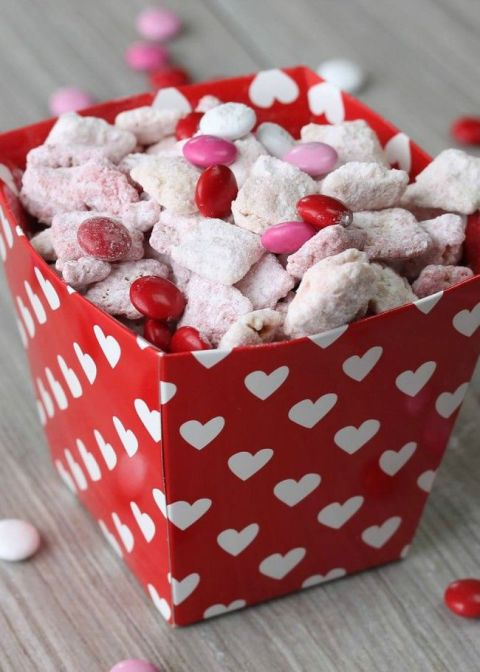 Valentine Chex Mix Strawberry Cake Mix