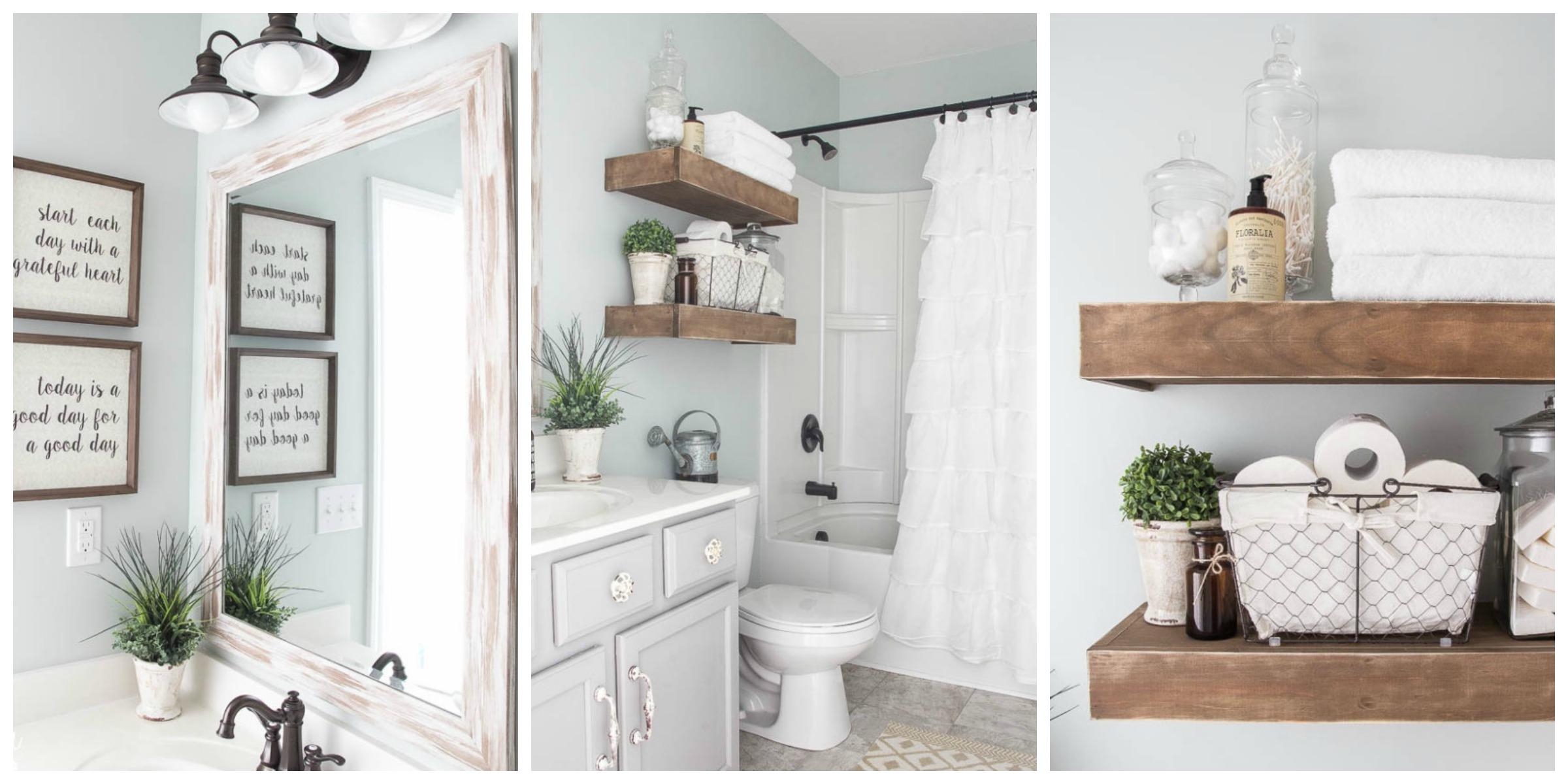 Farmhouse bathroom renovation ideas bless 39 er house blog for Farm bathroom