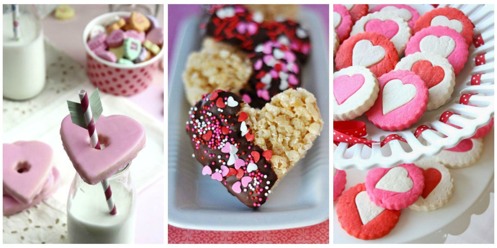 25 heart shaped cookies desserts valentine 39 s day treats country living - Desserts valentines day ...
