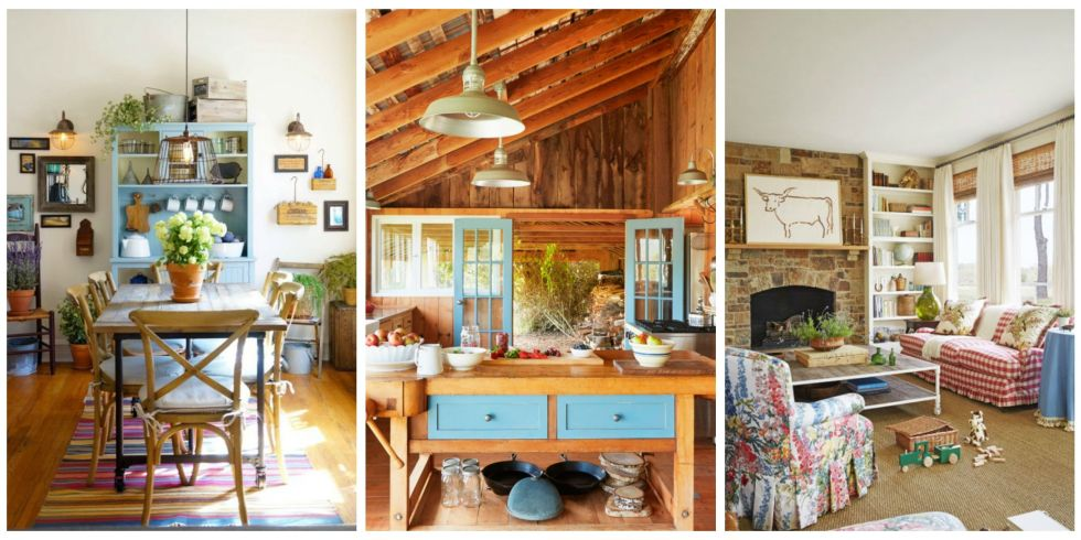 30 rustic rooms that perfectly embody farmhouse style - Rustic Interior Design Ideas