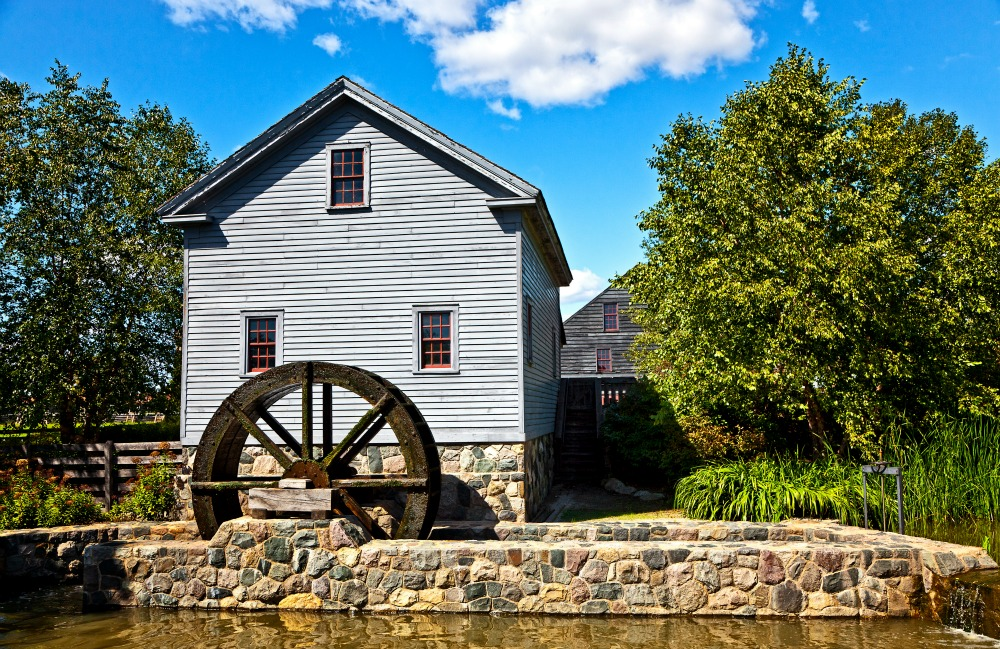 25 of the Most Beautiful Old Grist Mills In America - National State Parks