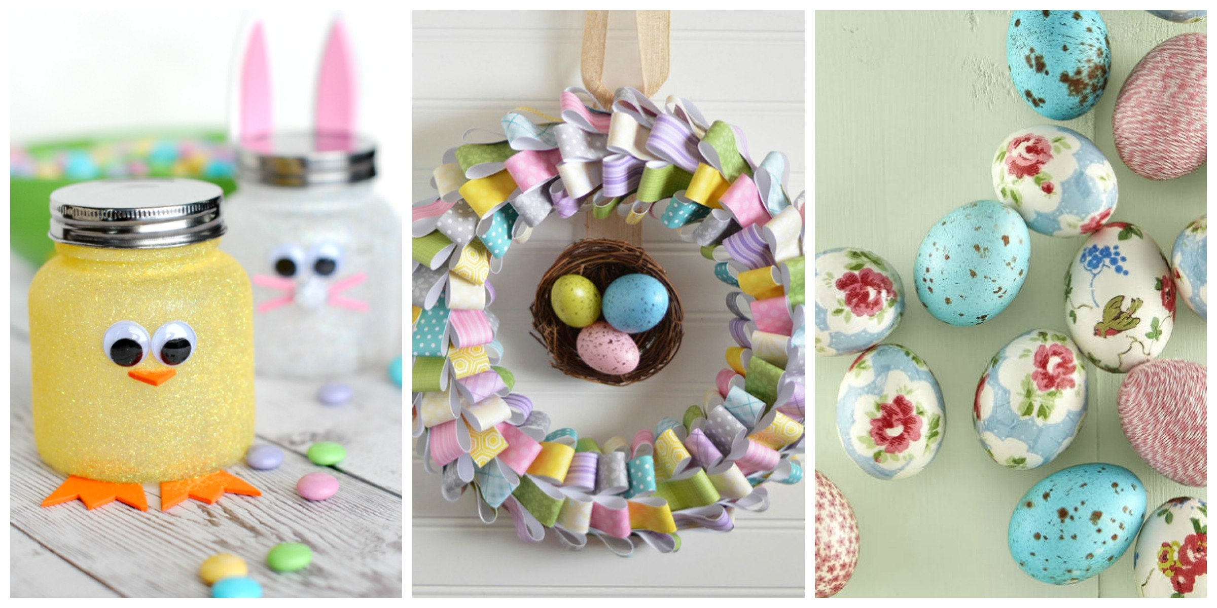 60 Easy Easter Crafts Ideas For Easter DIY Decorations Gifts