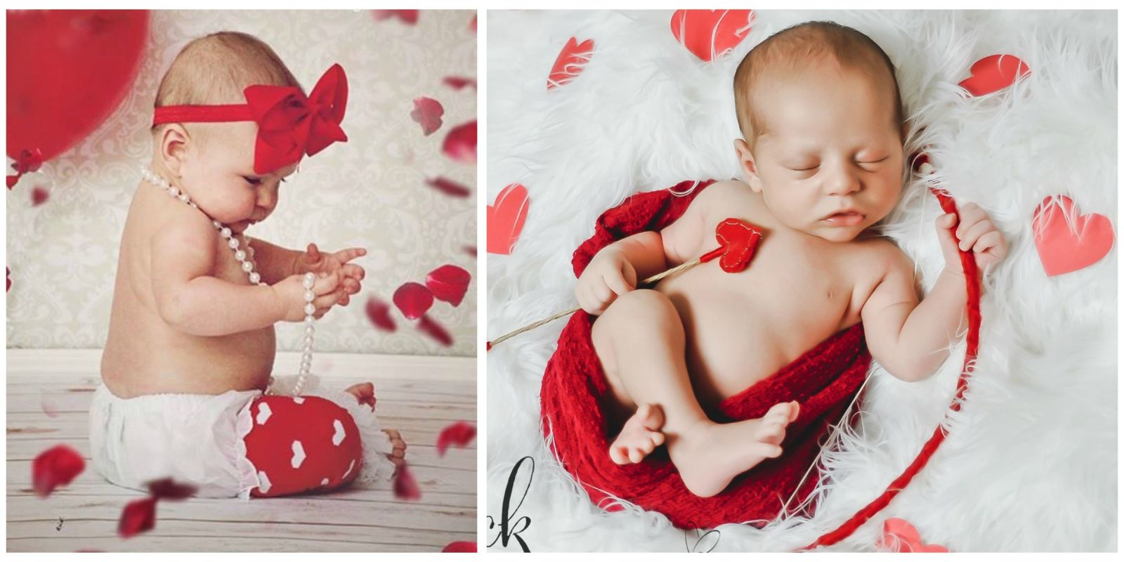 16 valentines day babies newborn photography for valentines day - Baby Valentine