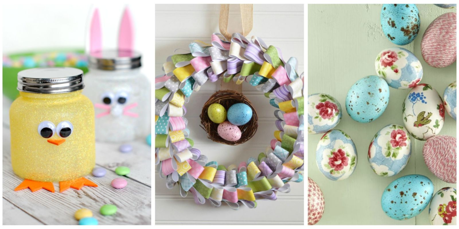 60 easy easter crafts ideas for easter diy decorations for Diy handicraft items