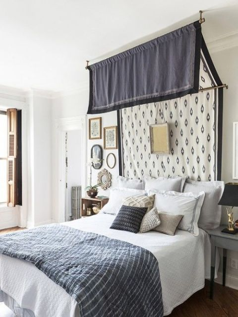 Bold Patterns - 10 DIY Canopy Beds - Bedroom And Canopy Decorating Ideas